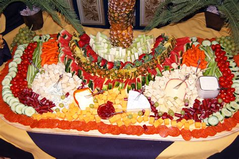 fruit and cheese display blue moon caterers hors d oeuvres