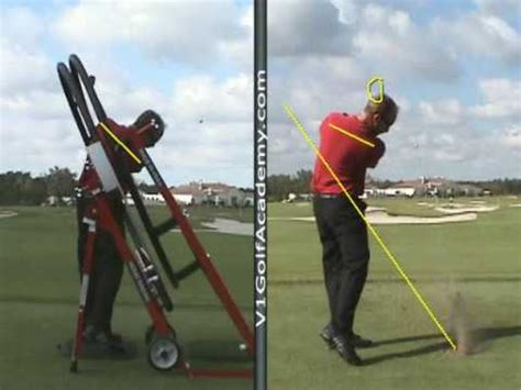 golf machine swing plane perfect golf machine lesson with top ranked