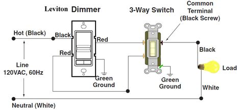 leviton three way dimmer switch wiring diagram how to wire 3 way dimmer electric