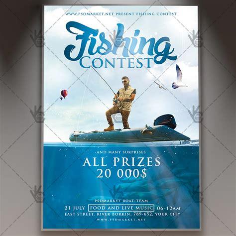 fishing tournament flyer template fishing tournament flyer template image collections templates design ideas