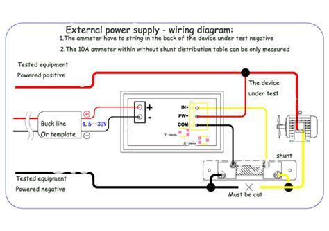voltage meter wiring diagram
