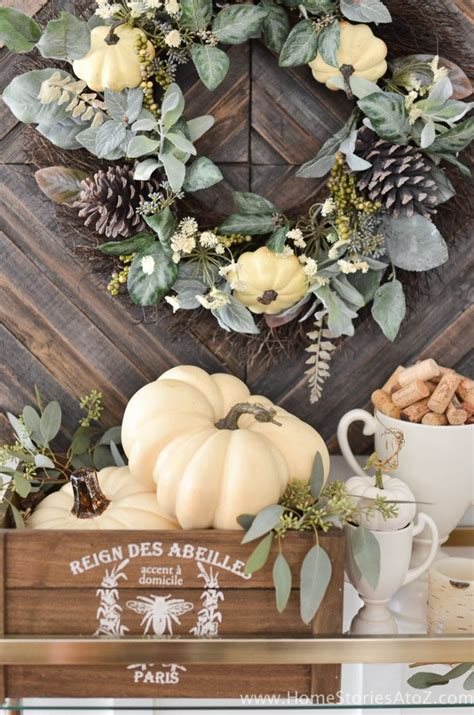 autumn decorating ideas for the home diy home decor fall home tour home stories a to z