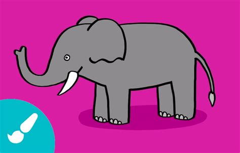 imágenes de elefantes fáciles para dibujar c 243 mo dibujar un elefante i how to draw an elephant youtube