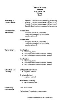 exles of summary of qualifications on resume personal
