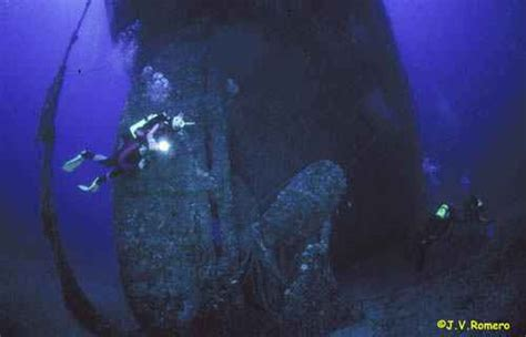 barco de vapor hundido en cabo de gata los 10 mejores lugares para bucear en espa 241 a blog paco