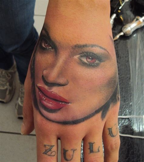 beyonce s tattoos needles and sins an ode to photorealism