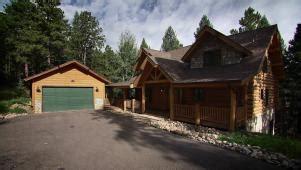 log cabin living hgtv