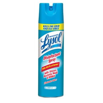 lysol brand iii disinfectant spray fresh rec  dorazio cleaning supply