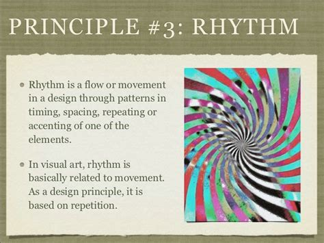 pattern rhythm definition anything to do with design understand the formal elements