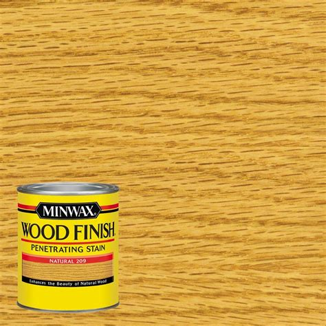 Stain Or Paint Kitchen Cabinets by Minwax 1 Qt Wood Finish Natural Oil Based Interior Stain