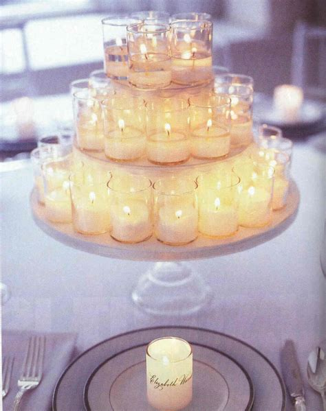 candle centerpiece blooms wedding event design candle centerpieces