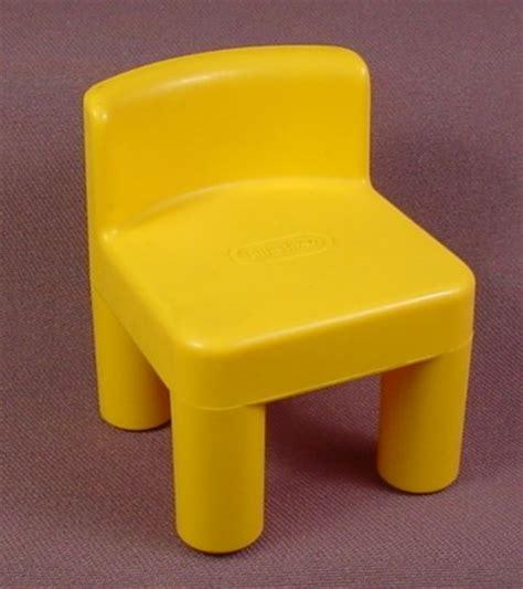 Kitchen Dollhouse Furniture Little Tikes Original Dollhouse Dark Yellow Kitchen Chair