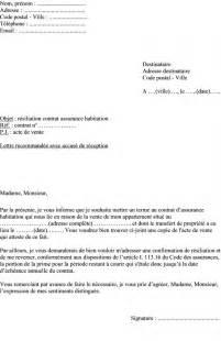Exemple De Lettre Résiliation Assurance Habitation Mod 232 Le De Lettre R 233 Siliation Assurance Habitation Vente D Un Appartement Actualit 233 S