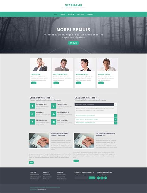 Responsive Templates Free by Responsive Web Templates Gallery Professional Report