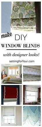 diy window blinds make gorgeous diy window blinds setting for four