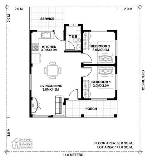 bedroom small house plan cool house concepts