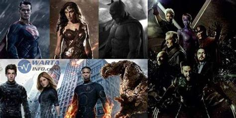Film Terbaru Marvel | trailer 5 film superhero marvel dc terbaru 2015 2016