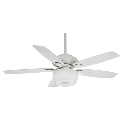 impressive white outdoor ceiling fan with light 1 white