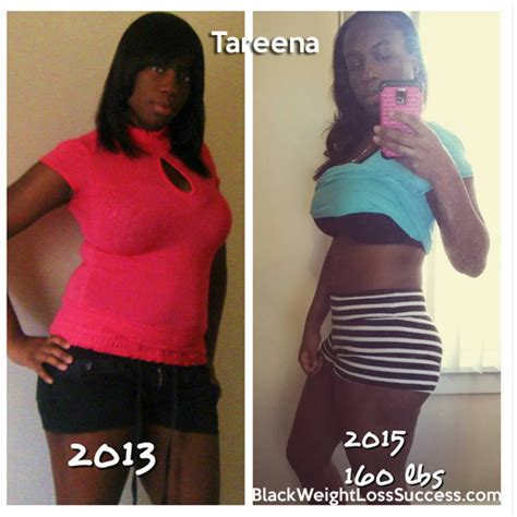 weight loss 60 pounds tareena lost 60 pounds black weight loss success