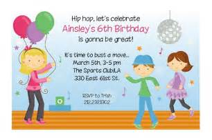 invitation for birthday by practicallydarling
