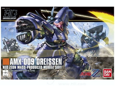 Gundam Bandai Hg Dreissen Amx 009 1 144 hguc amx 009 dreissen by bandai hobbylink japan
