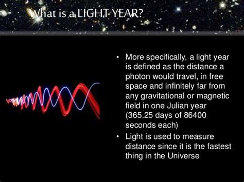 What Is The Distance Of A Light Year by Lightyear