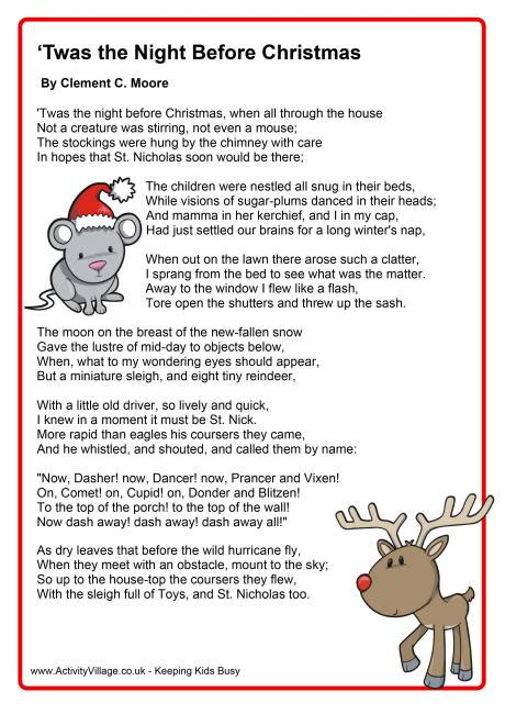 the night before christmas poem exchange gift search results for twas the before printable poem calendar 2015