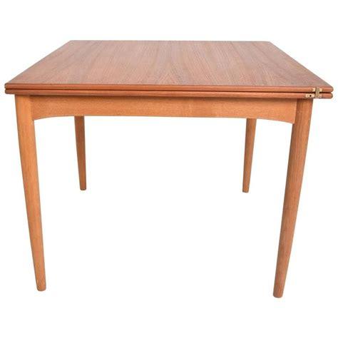 modern folding dining table modern teak folding dining table for sale at 1stdibs