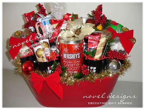 idea christmas basket corporate 40 gift baskets ideas celebration all about