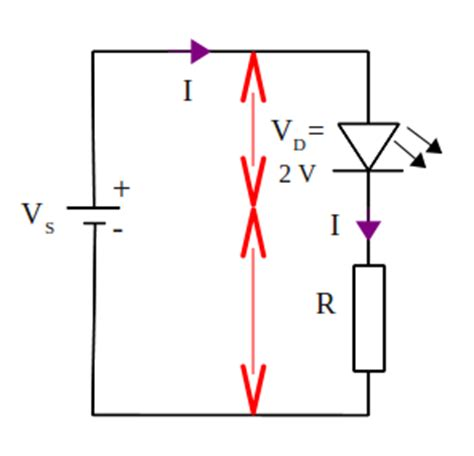 current limiting resistor for led calculating the value of led current limiting resistor electrostudy