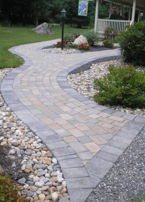 cost of paving backyard 32 best favorite front yard walkway landscaping ideas