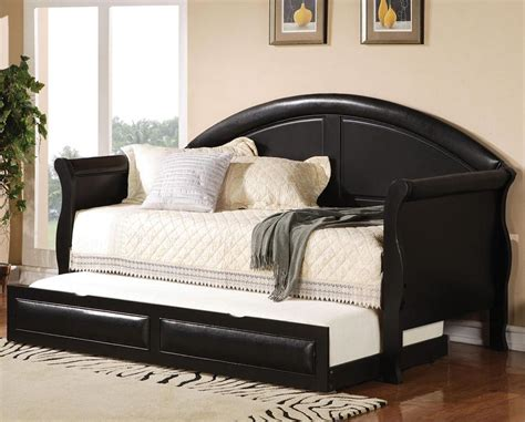 queen size daybed frame furniture  huge flexibility  function homesfeed