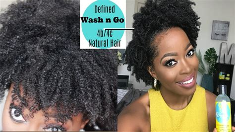 my defined wash and go on 4c 4b natural hair youtube how to achieve a super defined wash n go on 4b 4c