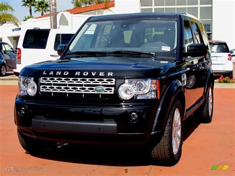 black land rover lr4 2012 santorini black metallic land rover lr4 hse 61288192