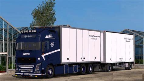volvo trailer volvo fh kroksta trailer interior modhub us