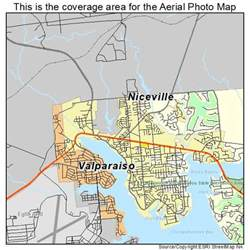 map of niceville florida aerial photography map of niceville fl florida
