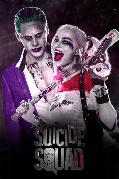 squad joker and harley quinn by jhonaphone on
