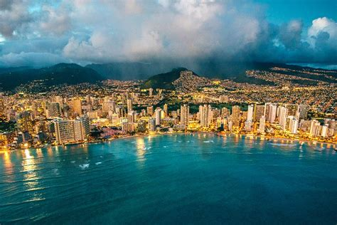 Honolulu City Lights by Honolulu City Lights Novictor Helicopter Tours Honolulu
