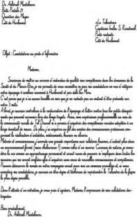 Présentation Lettre Type Accept 233 E Lettre De Motivation Manuscrite