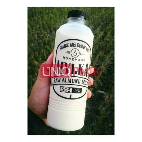 Plastik Puding Sedot Botol Almond 500ml Botol Atom 500ml Sn Di Jakarta