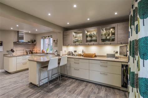 Kitchen Designers Hshire House In Wilmslow Contemporary Kitchen Cheshire By Cheshire Kitchens Bedrooms