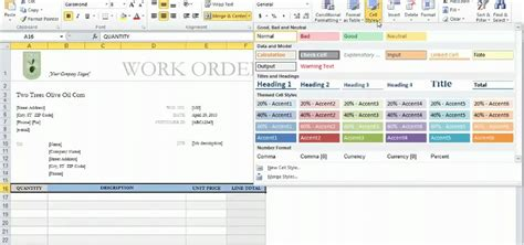 How to Use templates in Microsoft Excel 2010 « Microsoft