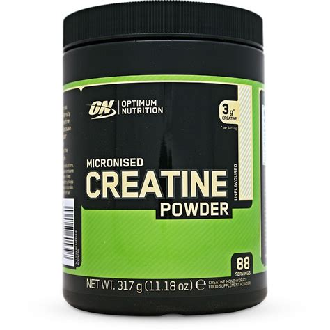 Suplemen Creatine optimum nutrition micronized creatine powder