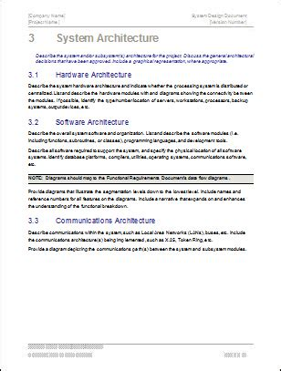 system design document template system design document template technical writing tips