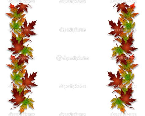 fall borders clip leaves border clip clipart panda free clipart images