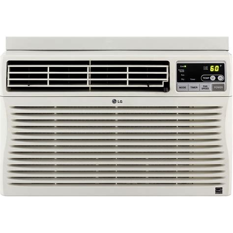 Air Conditioners For Small Windows Designs Lg Lw8012er 8 000 Btu Window Mounted Air Conditioner With Remote 115 Volts