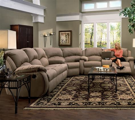 living room large reclining sectional sofas with