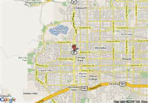 canoga park california map opinions on canoga park los angeles