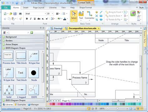 idef0 visio idef0 diagram software create idef0 diagrams rapidly