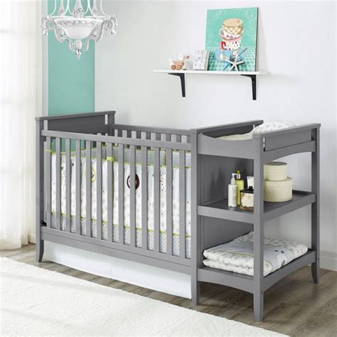 Best 25 Crib With Changing Table Ideas On Pinterest Baby Crib And Changing Table